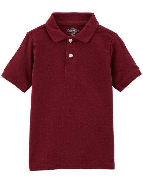 9faf895c5 Pique Uniform Polo | OshKosh.com