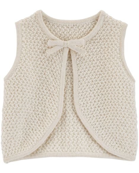 Sparkle Sweater Vest
