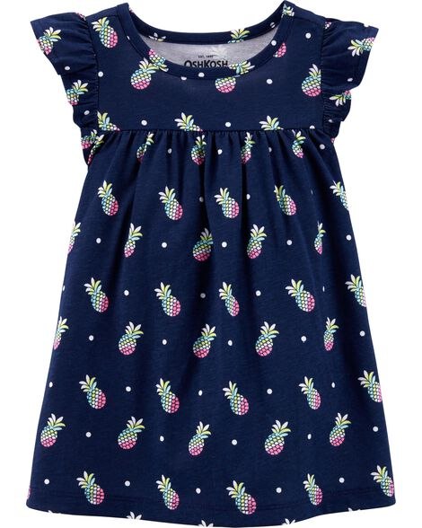 Jersey Pineapple Dress