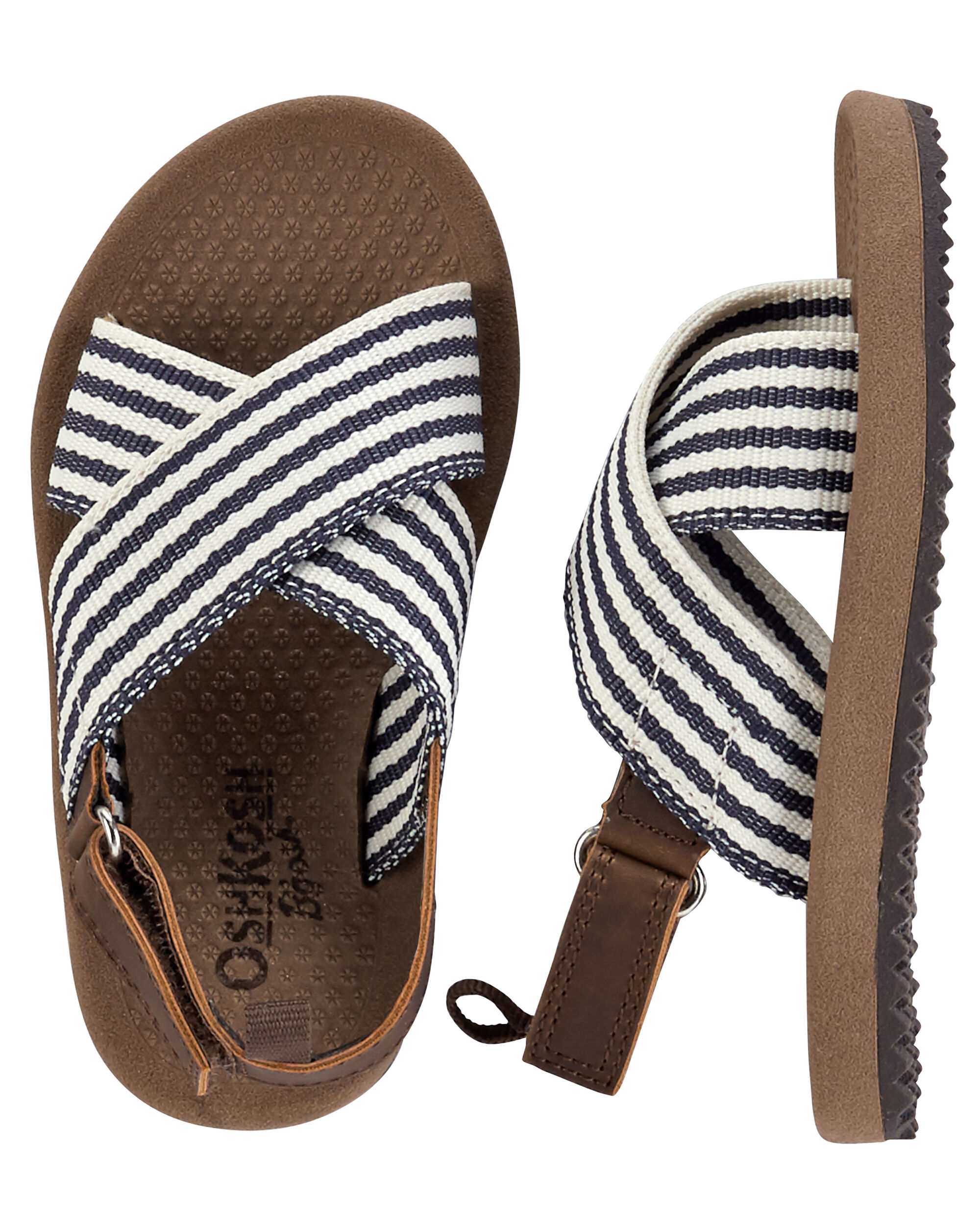 912c685c6782 Images. OshKosh Striped Sandals