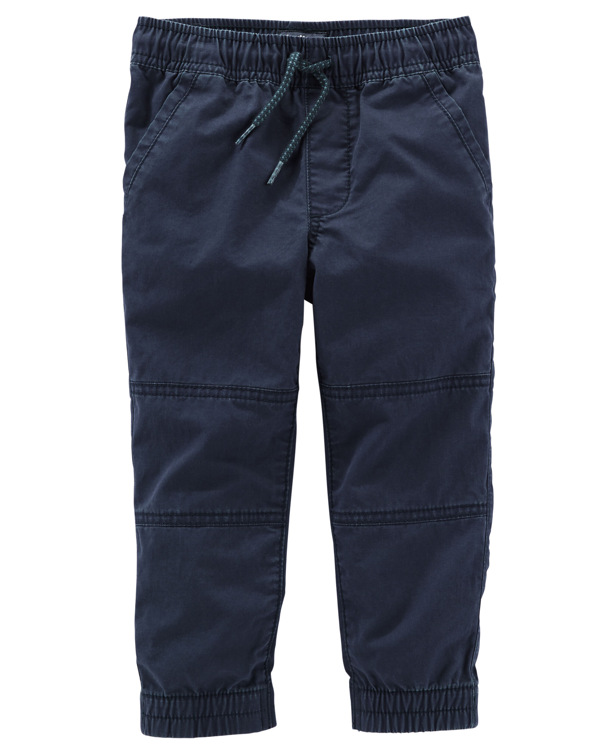 Pull-On Twill Joggers