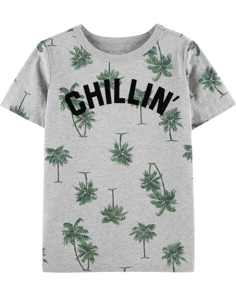 Chillin Palm Tree Tee