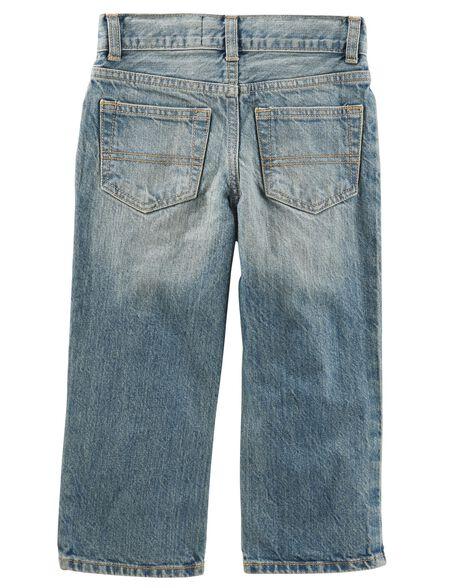Classic Jeans -Natural Indigo Wash