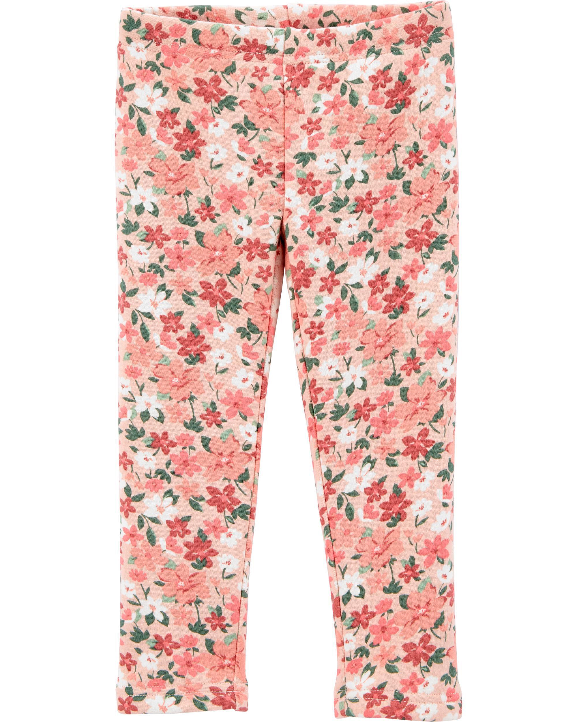 *DOORBUSTER*Floral Cozy Fleece-Lined Leggings