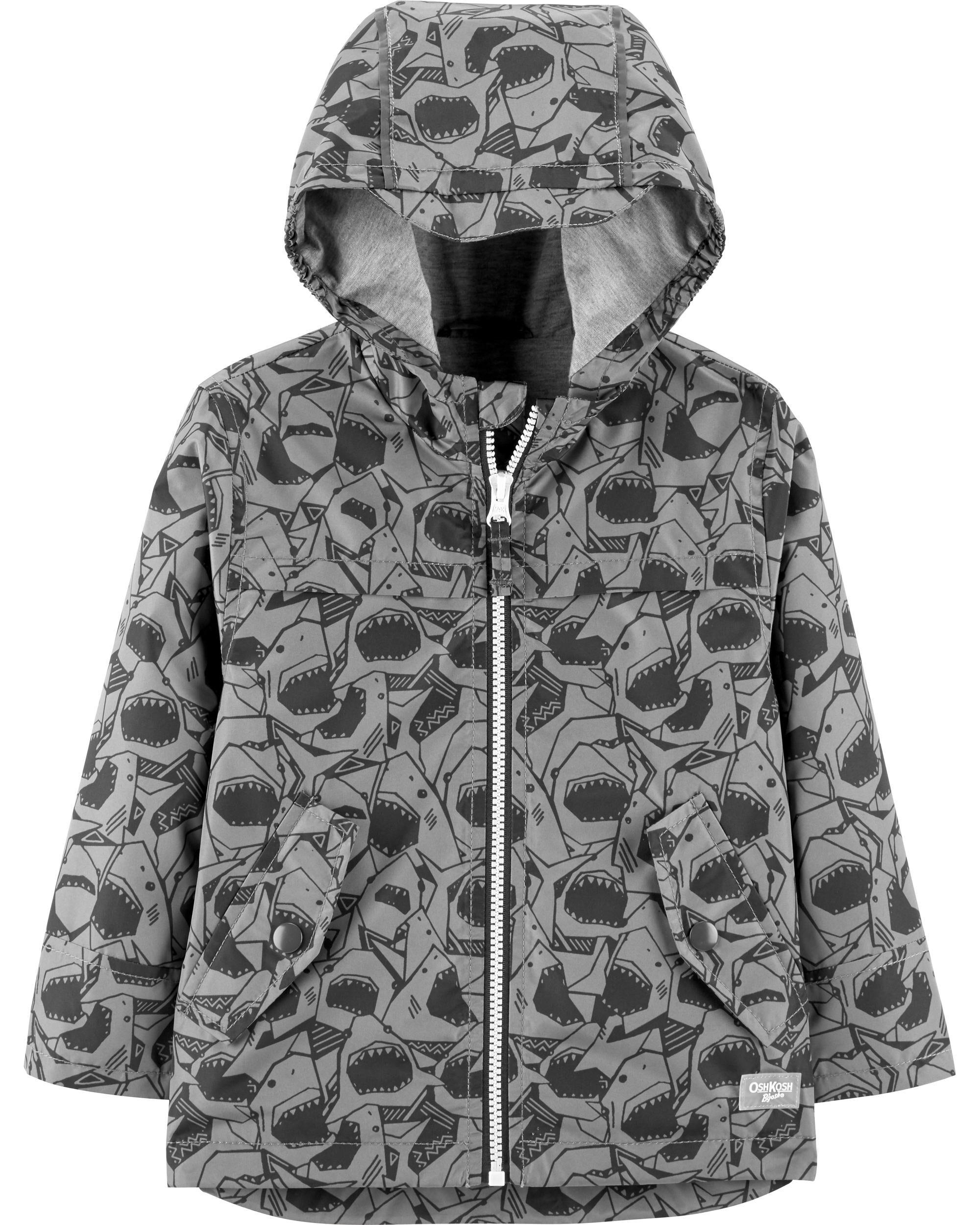 Shark Rain Jacket Toddler Boy Coats \u0026 Jackets | OshKosh Free Shipping