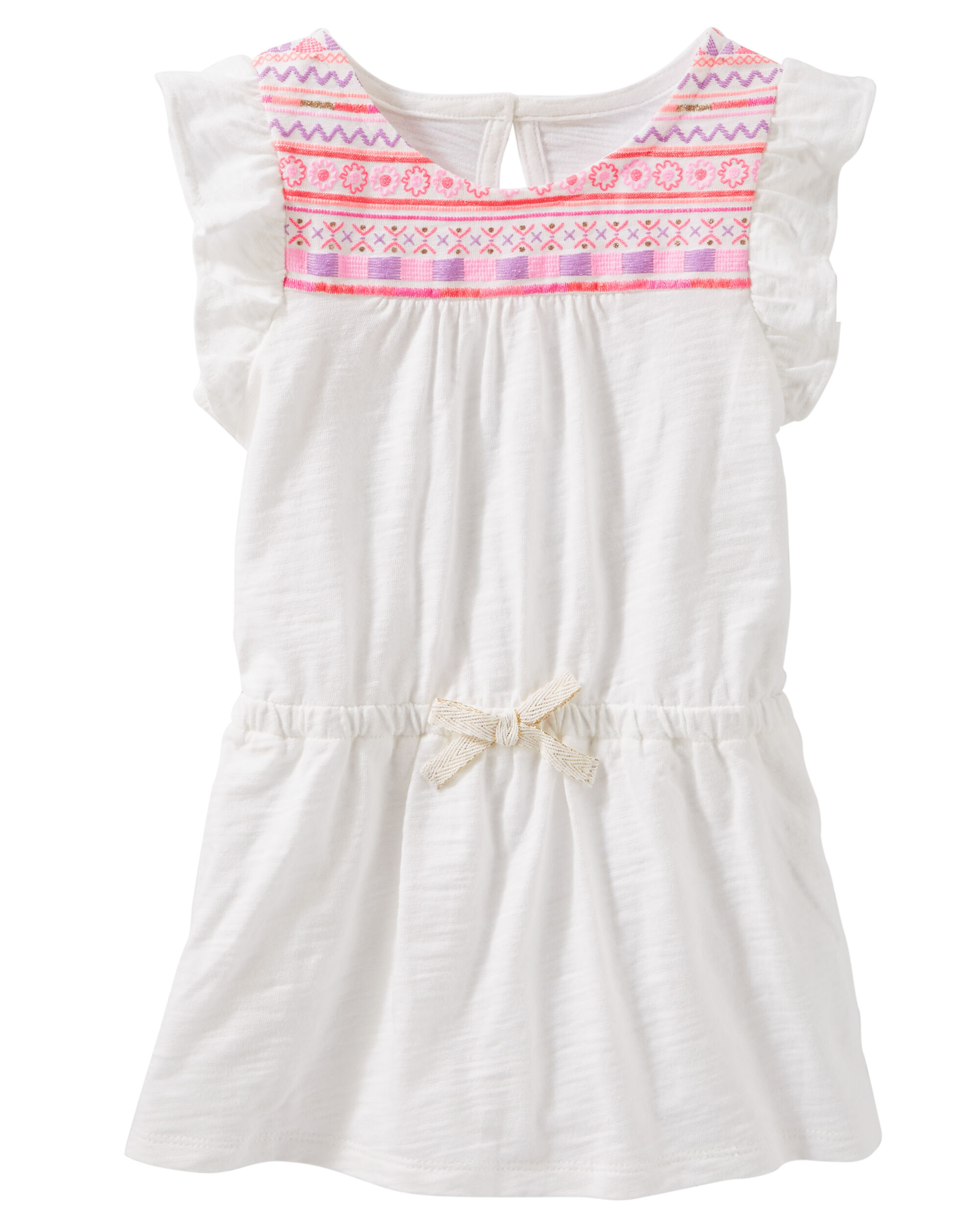 OshKosh BGosh Baby Girls Embellished Neck Tank Top