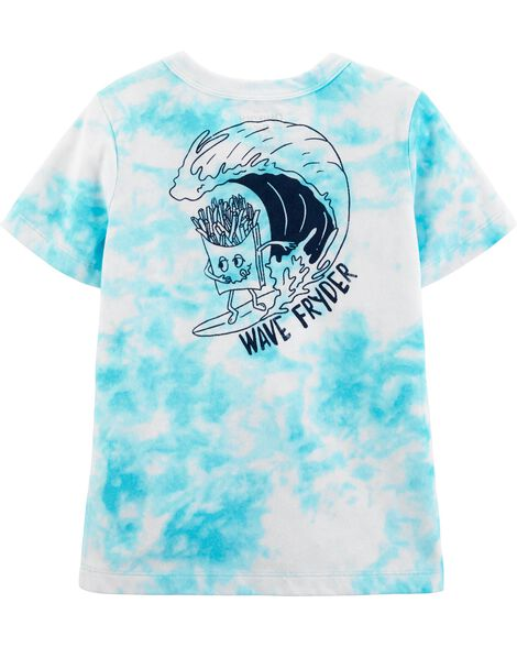 French Fries Tie-Dye Tee