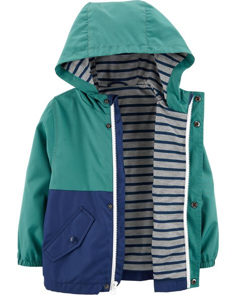 Striped Reversible Jacket