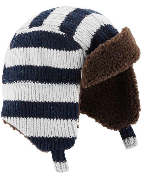 5bd30c2ed60ab5 Striped Trapper Hat | OshKosh.com
