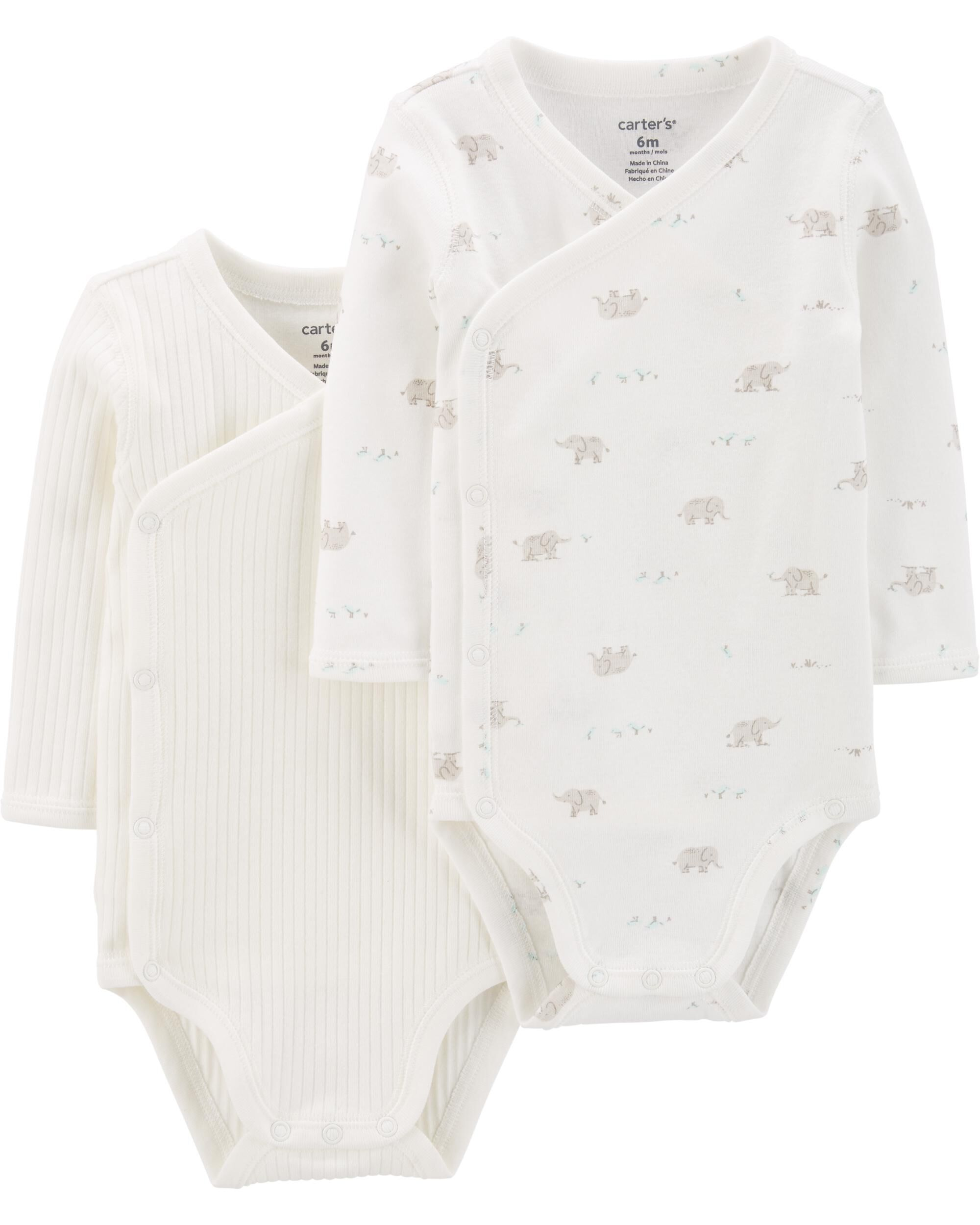 Pack of 6 Exclusive Care Baby Boys Shaping Bodysuit