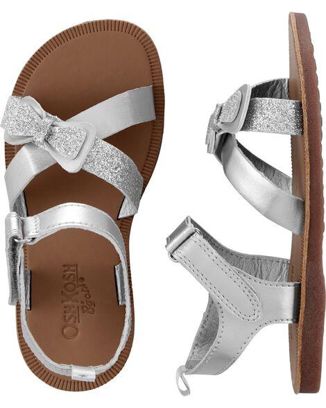 OshKosh Silver Sandals