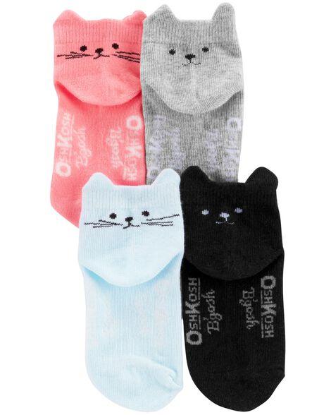 7-Pack Animal Ankle Socks