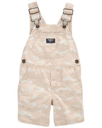 OSHKOSH baby boys black check Shortie DUNGAREES 3//6M cotton