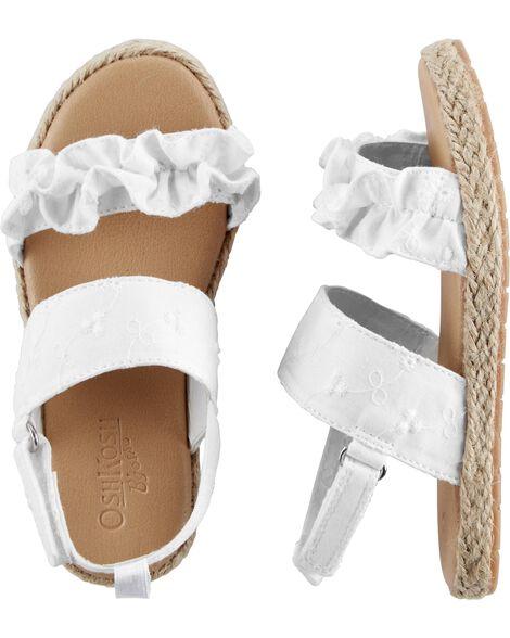 OshKosh Eyelet Sandals