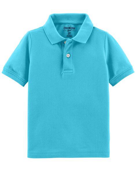 f9d967879 Pique Uniform Polo | OshKosh.com