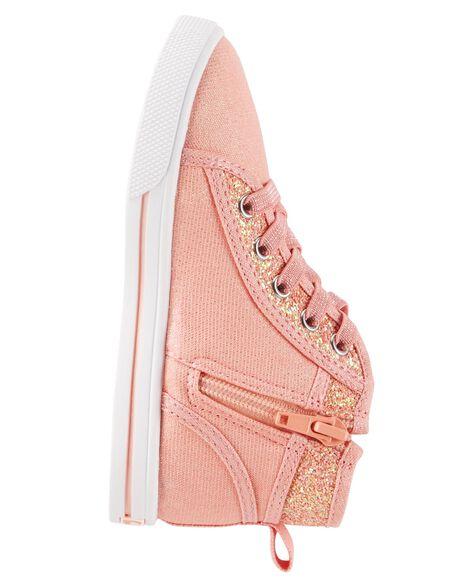 OshKosh Pink High-Top Sneakers