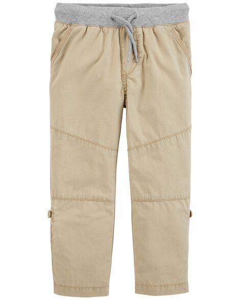 ea14c9666 Convertible Poplin Pants | OshKosh.com