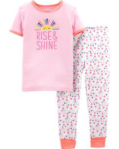 688c2fc90 Baby Girl Pajamas & Sleepwear | OshKosh | Free Shipping