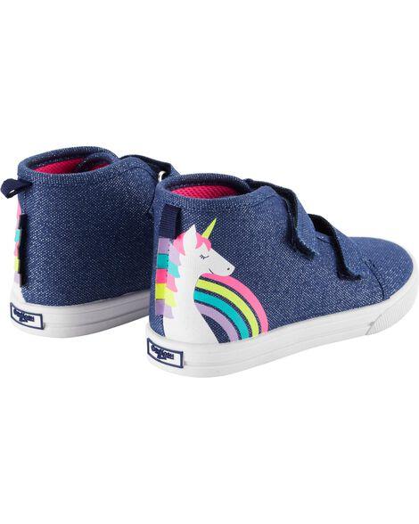 OshKosh Unicorn High-Top Sneakers