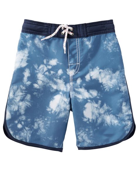 3a81fae2e9 OshKosh Tie-Dye Swim Trunks | OshKosh.com