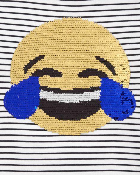 Emoji Flip Sequin Tee