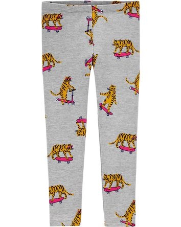 Skateboard Tiger Leggings