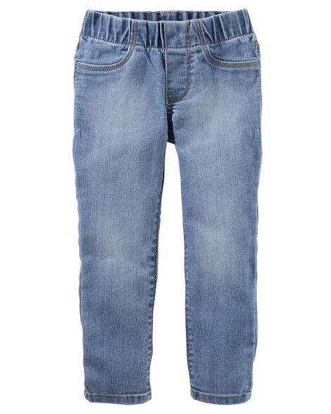 Pull-On Jeggings - Winchester Wash