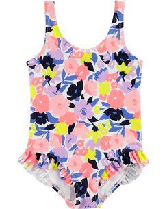 652b6a95d6 Toddler Girl Swimwear   1-Piece   Carter's