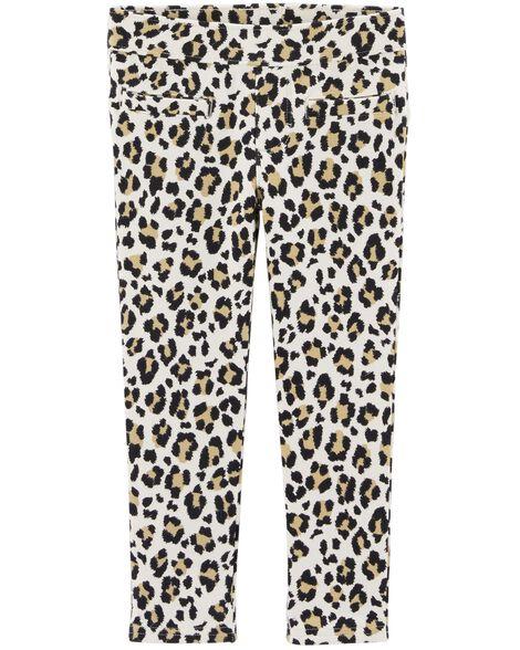 Leopard Jeggings