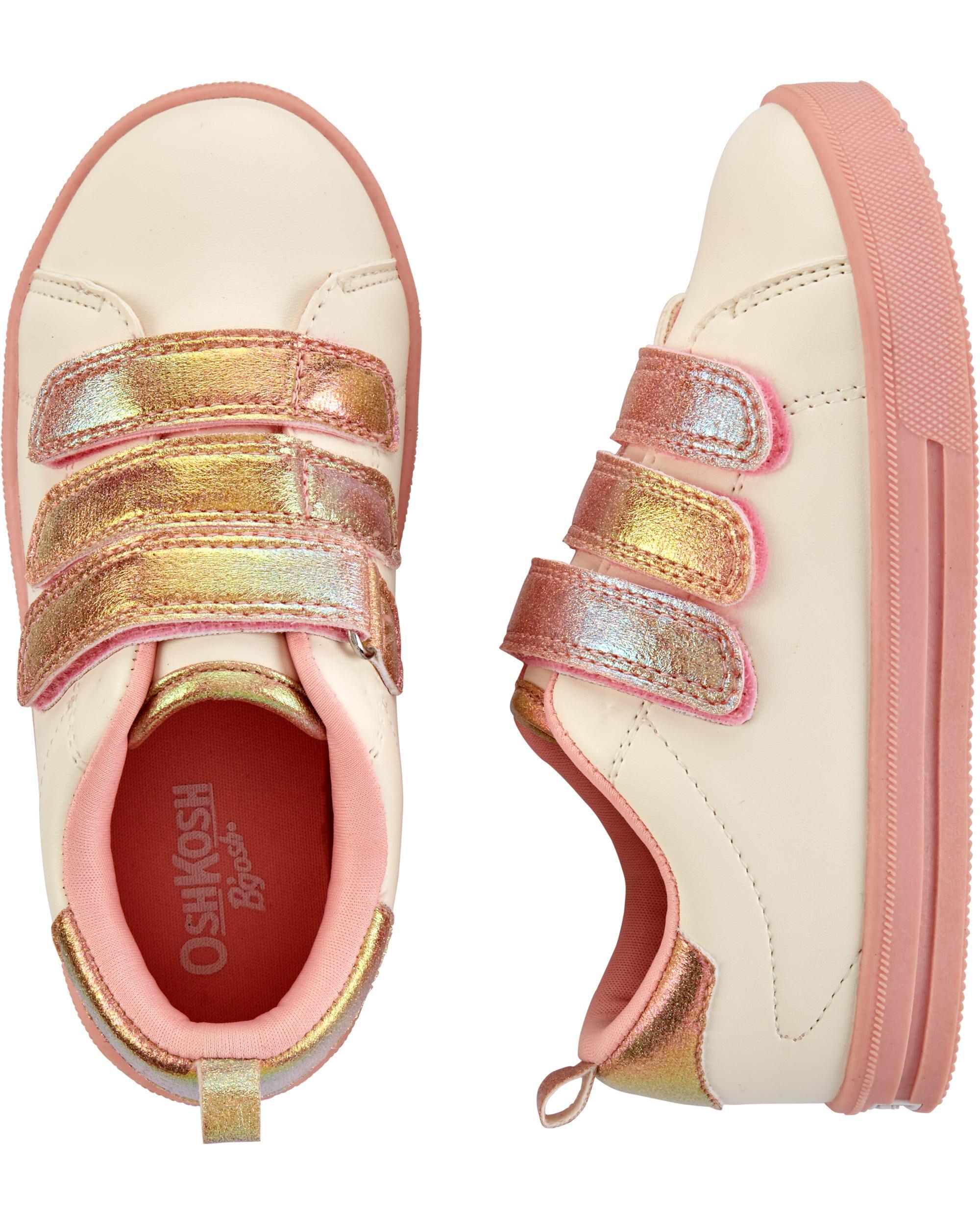*DOORBUSTER*White Triple Strap Sneakers