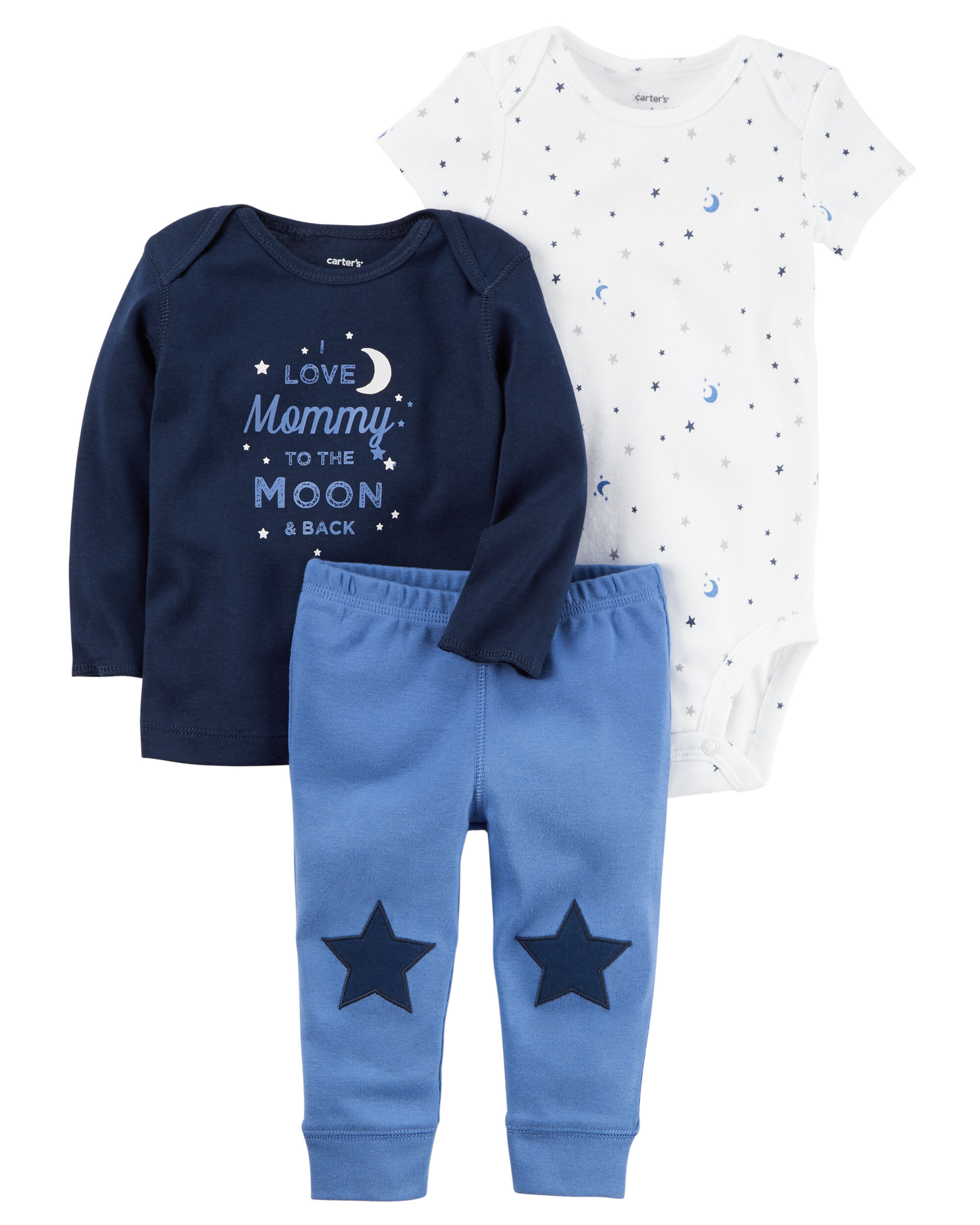 Baby Boy 3 Piece Little Character Set