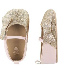 08bfb15bd135 Baby Girl Crib Shoes