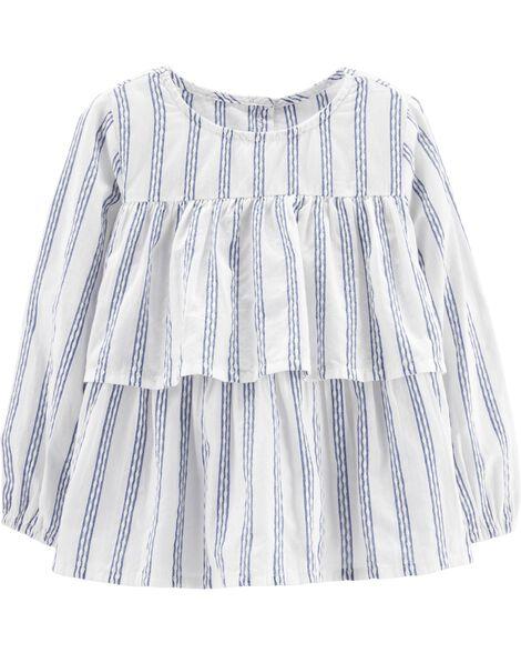 1dd152bbe Striped Peasant Top | OshKosh.com