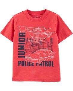 89d835973af143 Junior Police Patrol Slub Jersey Tee