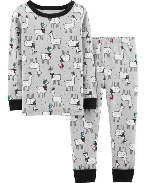 1faf0ad30 Snug Fit Llama Cotton PJs