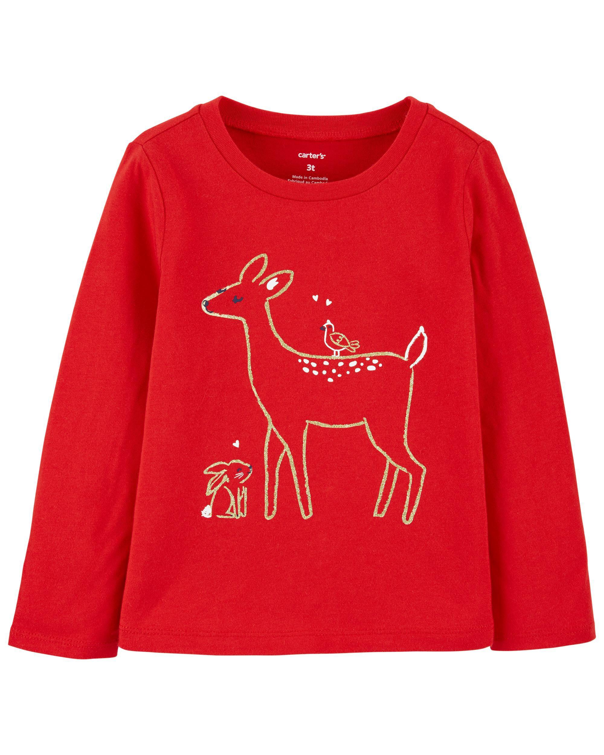 *DOORBUSTER*Reindeer Jersey Tee