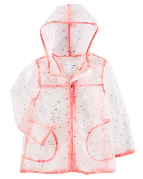 91caaa0597ca Clear Polka Dot Rain Jacket