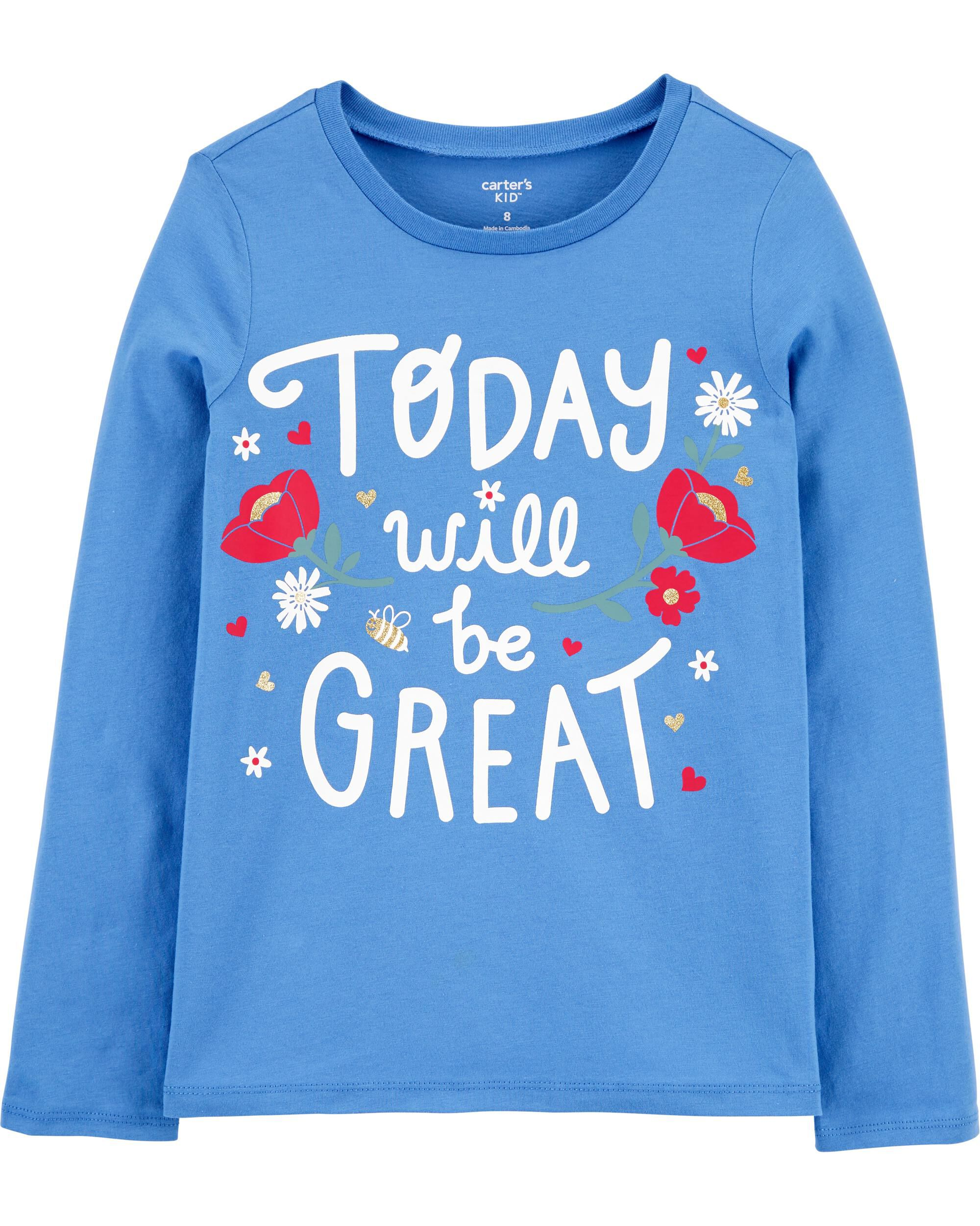 *CLEARANCE*Today Will Be Great Jersey Tee