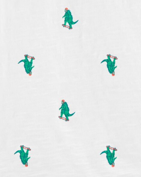 Skateboarding Dinosaur Polo