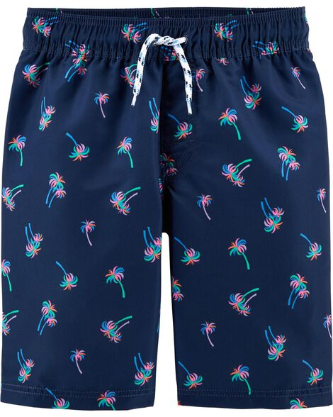 OshKosh Palm Tree Swim Trunks