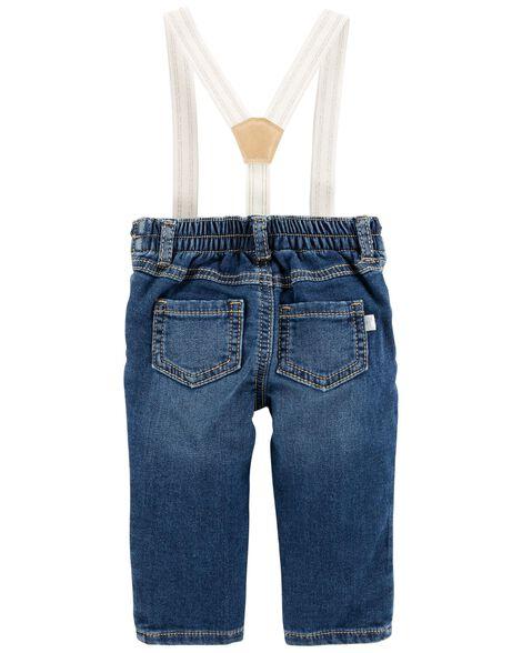 Sparkle Suspender Pants