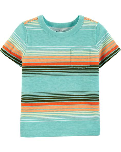9d20bdbf Striped Pocket Tee | OshKosh.com