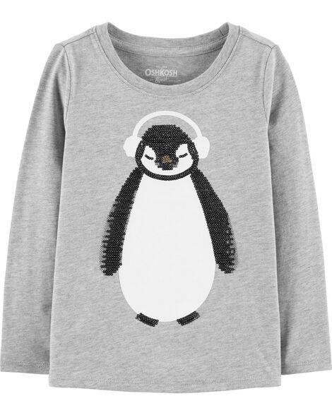 Penguin Sequin Top