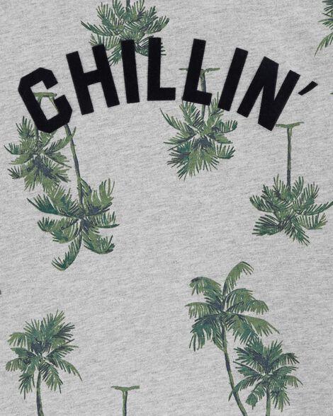 Chillin Palm Tree Tee