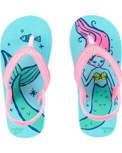 57aefe10e0a4 OshKosh Mermaid Flip Flop