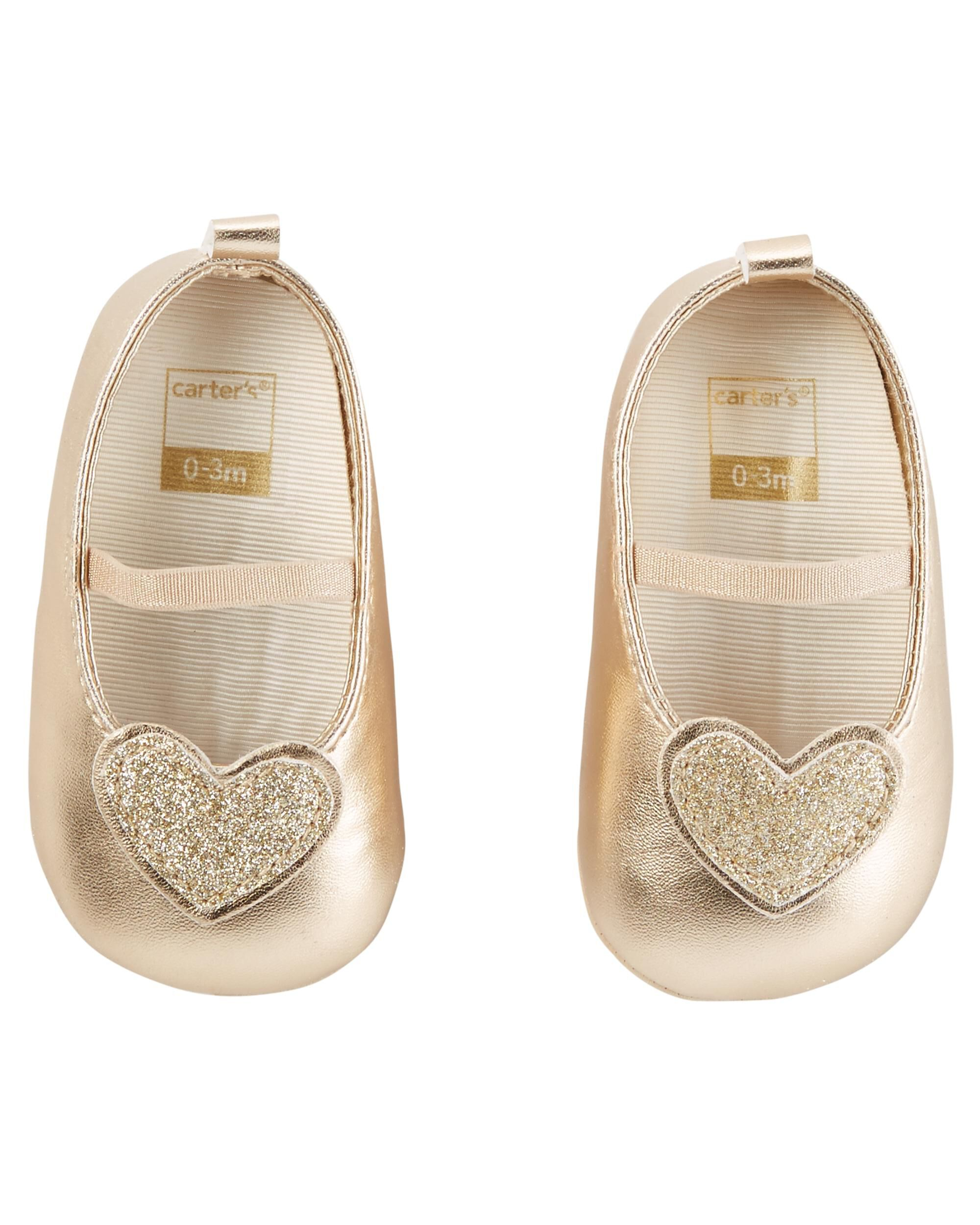 Baby Girl Carter s Mary Jane Crib Shoes
