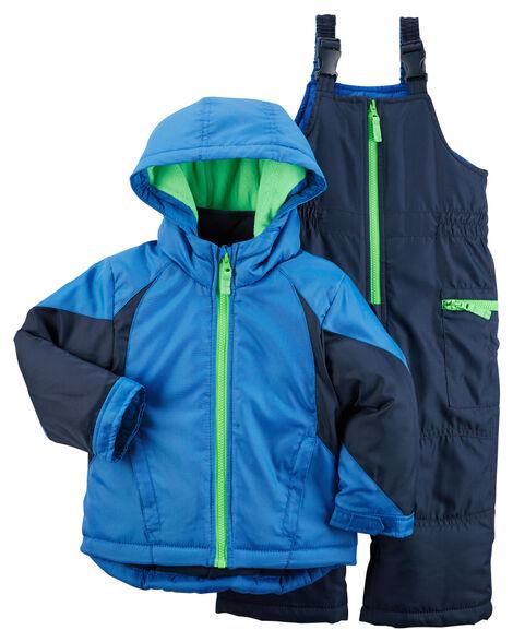c30363e39 Toddler Boy Snowsuit Set