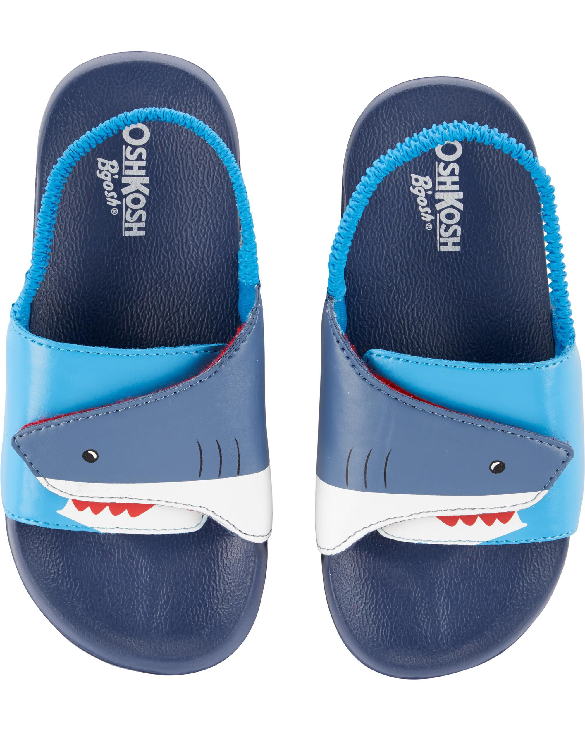 c9435590124e OshKosh Shark Slide Sandals ...
