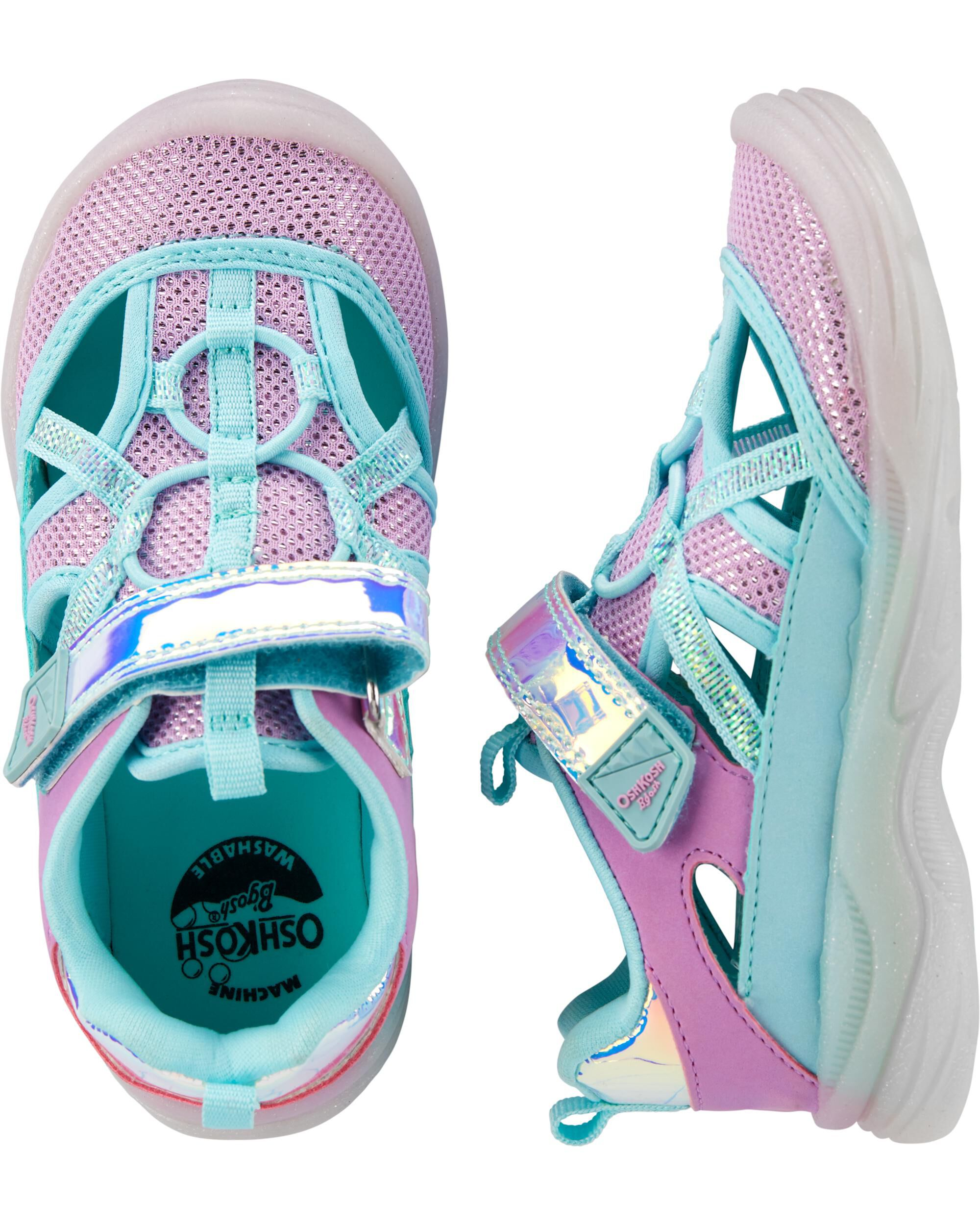 OshKosh Purple Bump Toe Sandals
