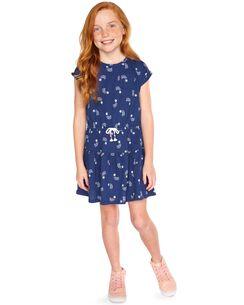 Rainbow Star Jersey Dress 3ad06ed27